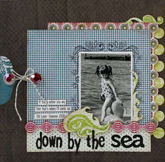 Down by the Sea *new Pink Paislee*