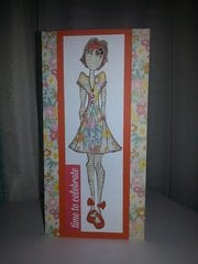 Prima birthday card