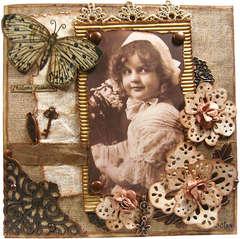 Vintage, little girl, pic 1/2