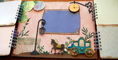 main LO of my Signature Scrapbook