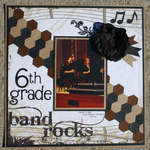 6th grade band rocks
