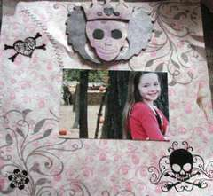 the skull girl