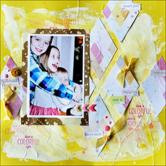 colorful *Cocoa Daisy Feb kit*