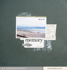 Memory by Amanda Jones for Jenni Bowlin Studio