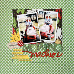 Mowing Machine by JBS Design Team Member:  Lisa Dickenson