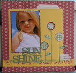 Sun Shine by JBS Design Team Member:  Michelle McCord