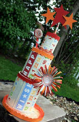Birthday Center Piece by JBS Design Team Member:  Michelle McCord