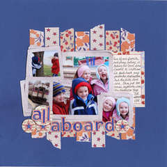 All Aboard by JBS Guest Designer