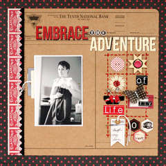 Embrace the Adventure by Leah Farquharson
