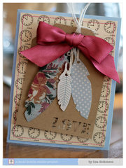 Love Card by Lisa Dickinson for Jenni Bowlin Studio