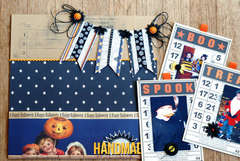 Handmade Halloween detail by Betsy Sammarco