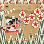 Happy XMas by Harumi Hagiwara for Jenni Bowlin Studio