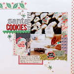 Santa Cookies by Megan Klauer <br>for Jenni Bowlin Studio</br>