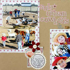 Sub Urban Cowboys by Doris Sander