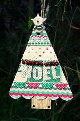 Tree Ornament by Jill Sprott for Jenni Bowlin Studio