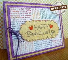 Happy Birthday to you by Linda Wetterlin