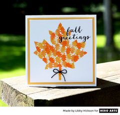 Fall Greetings by Libby Hickson for Hero Arts