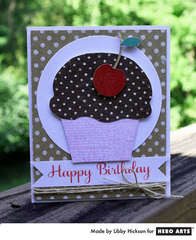 Scratch & Sniff Cupcake by Libby Hickson