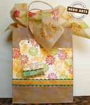 Fall Flower giftbag by Nancy Krueger