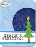 Seasons Greetings by Jennifer McGuire for Hero Arts