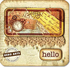 hello by Lisa Spangler