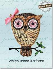 Owl You Need by Lisa Spangler