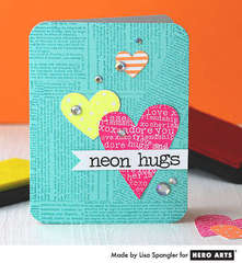 Neon Hugs by Lisa Spangler