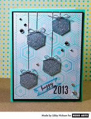 New Year Hexagons  By Libby Hickson