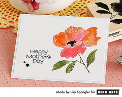 Happy Mother's Day Flower  By Lisa Spangler