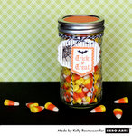 Trick or Treat Jar from Kelly Rasmussen