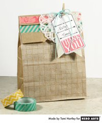 Decorated Treat Bag  By Tami Hartley