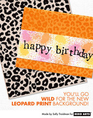 Bright and Wild Birthday  By Sally Traidman