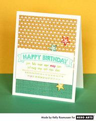Birthday Calendar  By Kelly Rasmussen