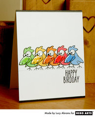 Happy Birdday  By Lucy Abrams