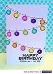 Happy Birthday Garland  By Sally Traidman