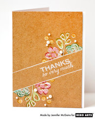 Thanks So Very Much  By Jennifer McGuire