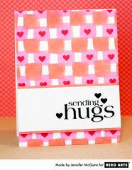 Sending Hugs  By Jennifer McGuire