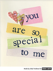 Special To Me  By Sally Traidman