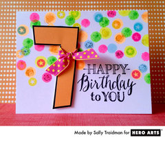 Happy 7th Birthday  By Sally Traidman