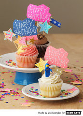 Constellation Cupcakes  By Lisa Spangler