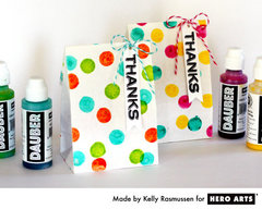 Thanks Treat Bag  By Kelly Rasmussen