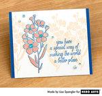 Simple Springtime Stamping  By Lisa Spangler