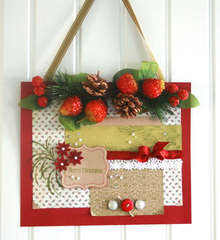 Holiday Door Sign By Kandis Smith