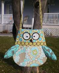 Owl Purse by Barbara Hache
