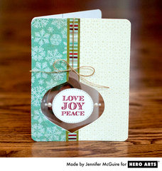 Love Joy Peace by Jennifer McGuire