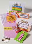 Happy Birthday Cards by Sally Traidman