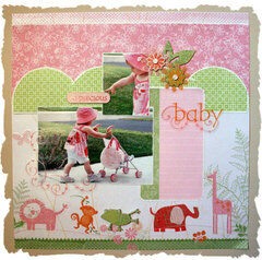 Precious Girl - *NEW* LYB Baby Safari