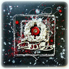 Prima DT - 12 Days of Christmas Cards
