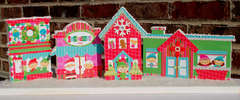 Santa's Village Home Decor- Wood *Doodlebug Design*