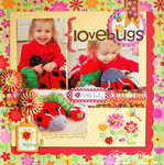 Love Bugs Layout *Doodlebug Design*